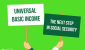 Universal Basic income placard illustration