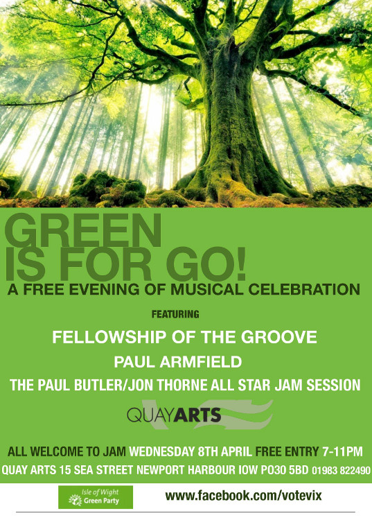 Green is for Go! at Quay Arts