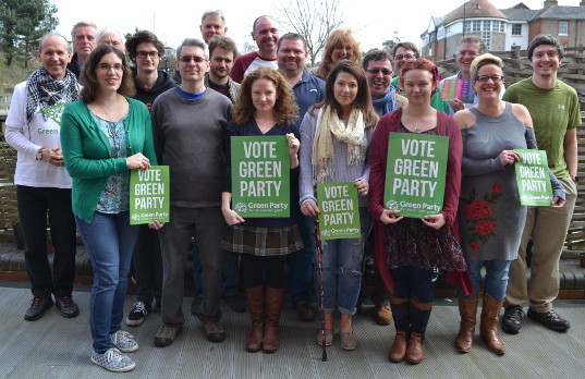 Your Isle of Wight Green Party team